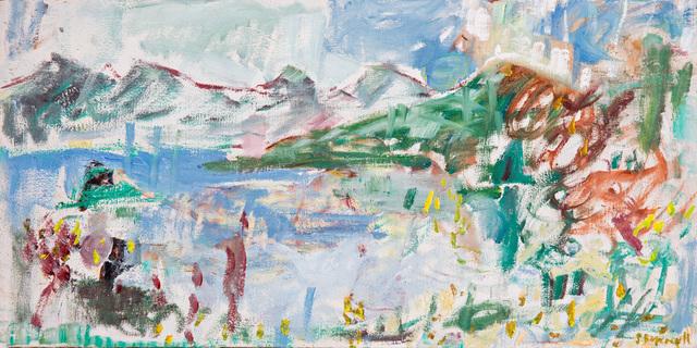 , 'Lake Geneva,' 2015, Niagara Galleries