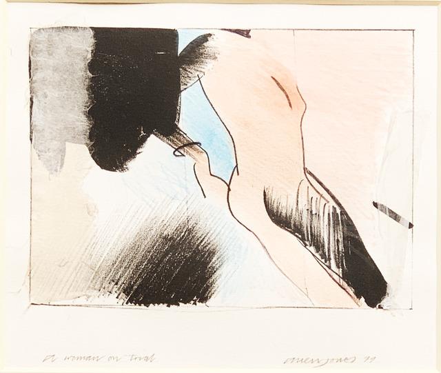 , 'Woman on trial,' 1979, Fairhead Fine Art Limited