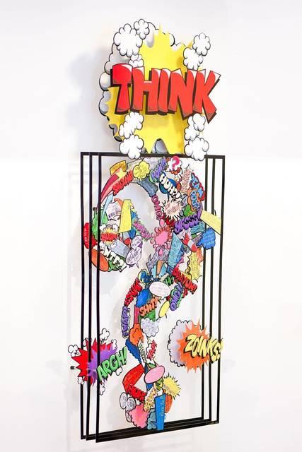 David Kracov, 'Thinking Comics ', 2019, Eden Fine Art