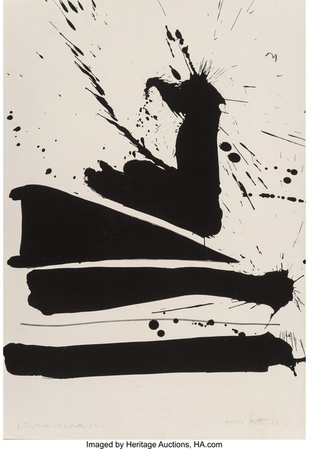 Robert Motherwell, 'Automatism B', 1966, Heritage Auctions