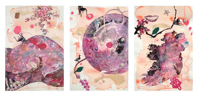, 'My Body My Soul (Triptych) ,' 2019, Gallery 1202