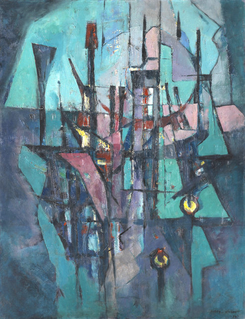 , 'Harbour,' 1952, Whitford Fine Art