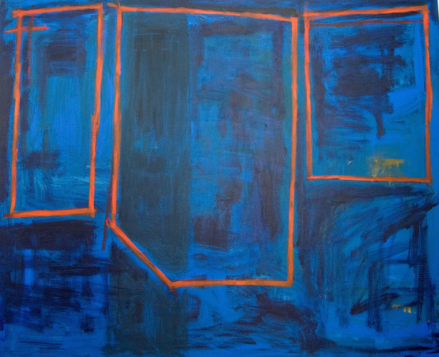 , 'Untitled (Blue, Orange, Horizontal),' 2016, Artig Gallery