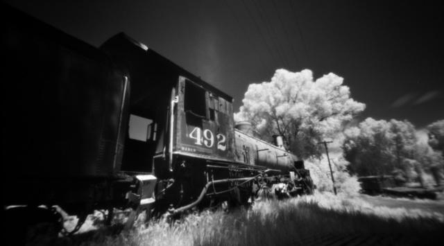 , 'Chama Engine 492 Pinhole,' , Modernist Frontier