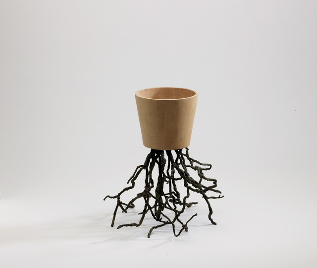 , 'Vase With Roots – WOOD Small,' 2007, Brand New World Salon