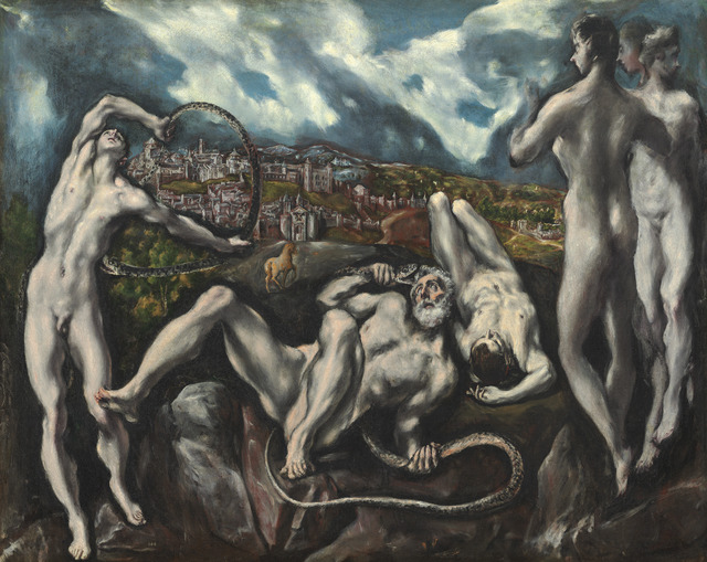 El Greco, 'Laocoön', ca. 1610/1614, Painting, Oil on canvas, National Gallery of Art, Washington, D.C.