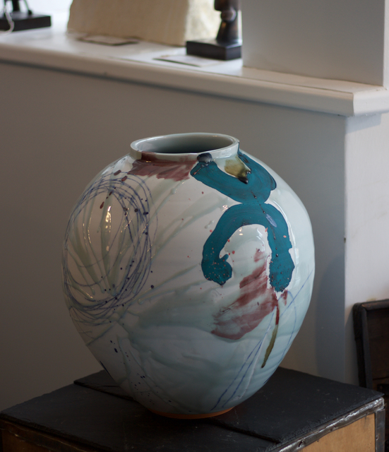 , 'Large Porcelain Moon Jar,' 2017, Bils & Rye