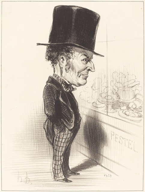 Honoré Daumier, 'Jean Charles Besnard', 1849, National Gallery of Art, Washington, D.C.