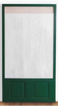 , 'Green Show Window,' 1965, Annely Juda Fine Art