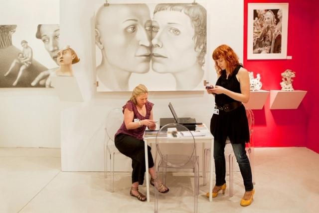 , 'Ferrin Gallery, Art Miami,' 2010, Clark Gallery