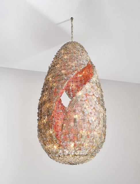 Flavio Poli, 'Important and unique ceiling light', circa 1958, Phillips