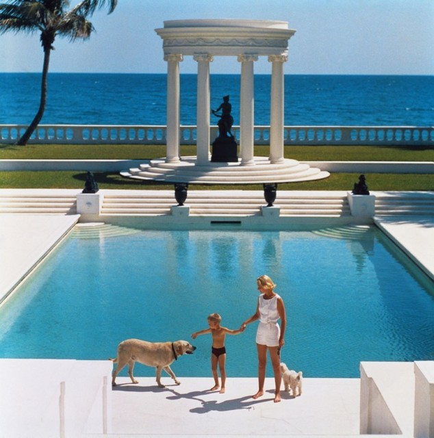 , ''Nice Pool' Palm Beach (Estate Stamped Edition),' 1965, Galerie Prints