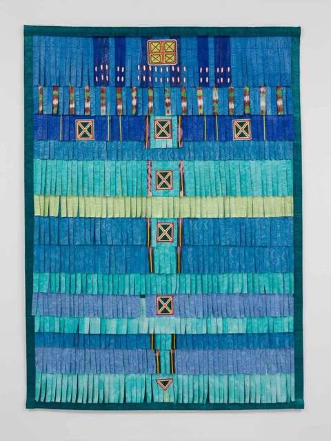 , 'Vert clair Touareg 2,' 2017, Stephen Friedman Gallery