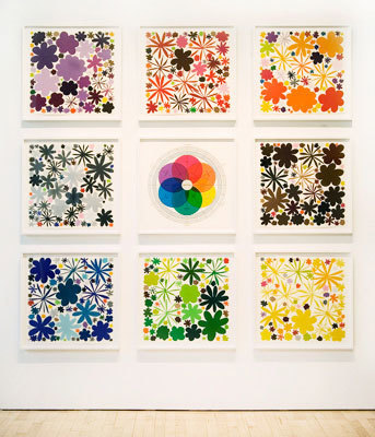 , 'Color Field Notes,' 2009, Talley Dunn Gallery