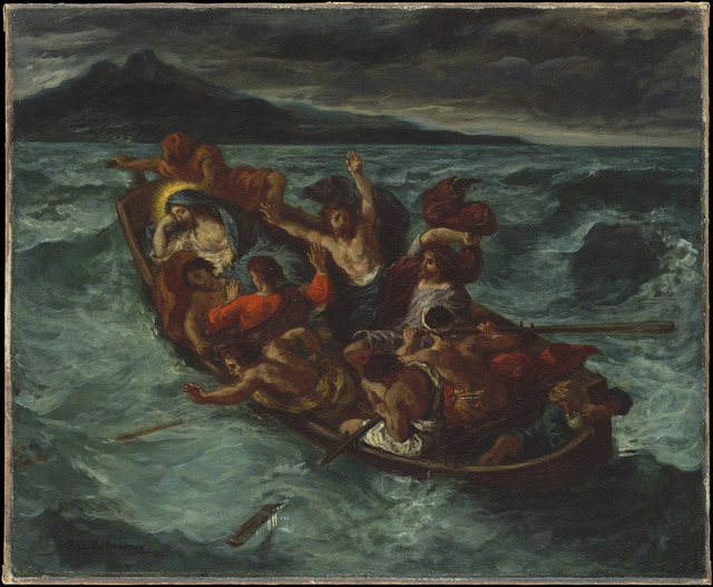 , 'Christ on the Sea of Galilee,' 1853, The National Gallery, London