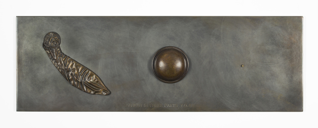 , 'Revolution: Object in Three Parts (Bronze, cast of 1966 version),' 1988, Galerie Lelong & Co.
