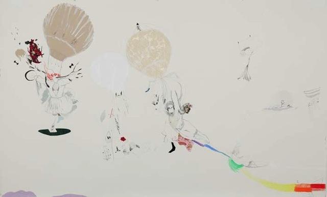 , 'WHITE FALLING,' 2011, RAMPA