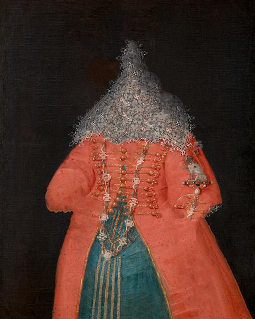 , 'caput # 04 / 3339, based on ELEONORE VON GONZAGA (1598–1655), shop of Peter Paul Rubens, 1600/1601,' 2018, Galerie Reinthaler