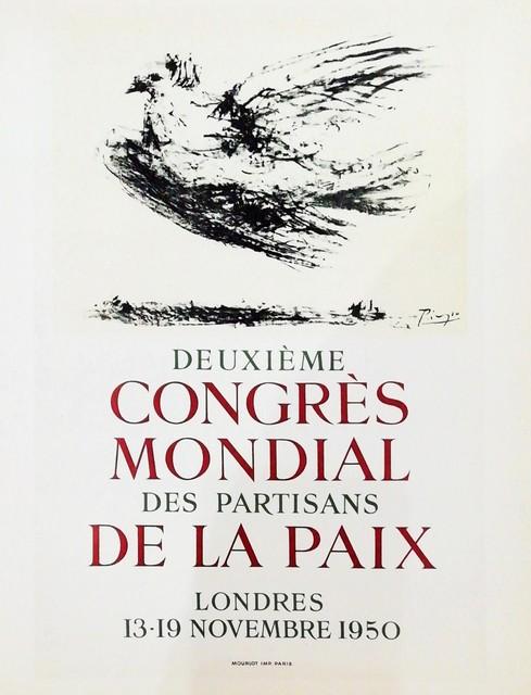 Pablo Picasso, 'Deuxiéme Congres De La Paix', 1959, Hidden