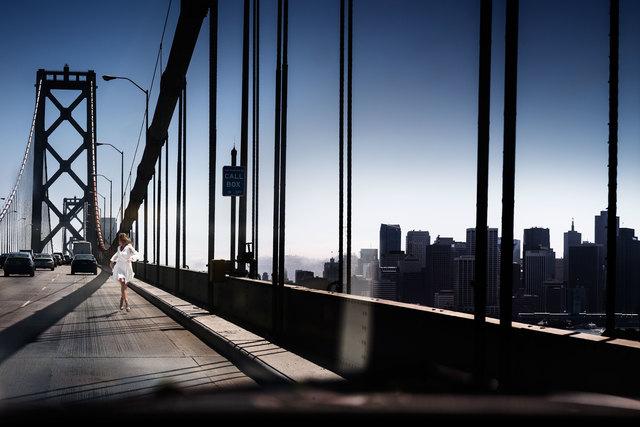 David Drebin, 'Running The Bridge', 2014, Atlas Gallery