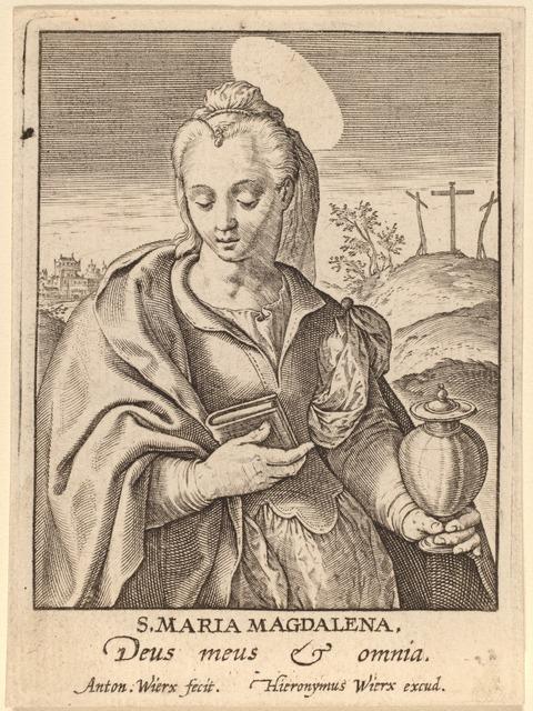 Antonie Wierix, 'S. Maria Magdalena', Print, Engraving, National Gallery of Art, Washington, D.C.