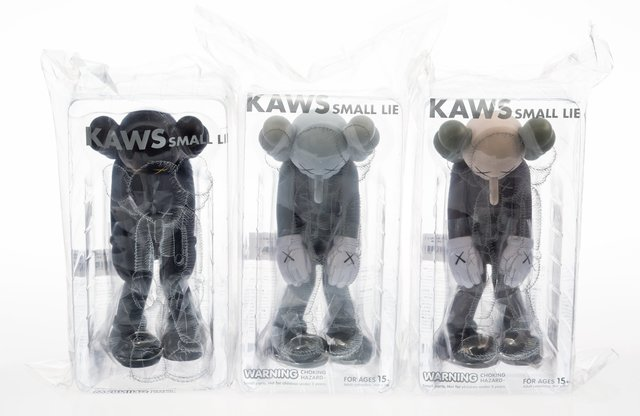 KAWS, 'Small Lie, set of three', 2017, Heritage Auctions