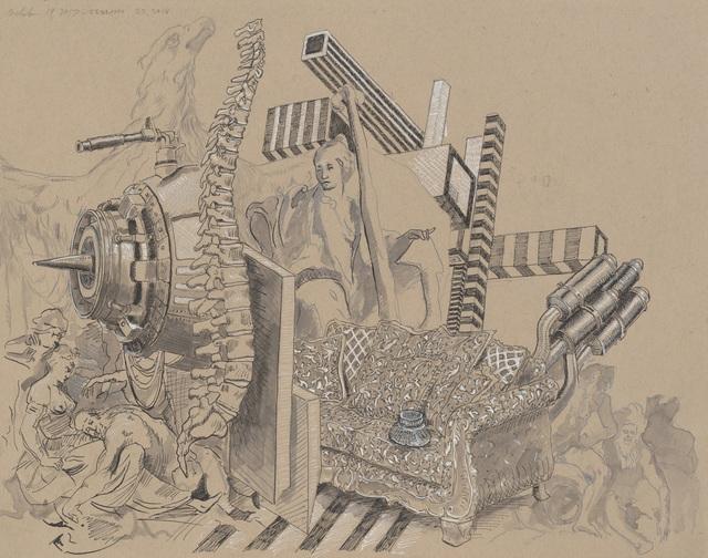 , 'Turbine Spine,' 2017-2018, Erin Cluley Gallery