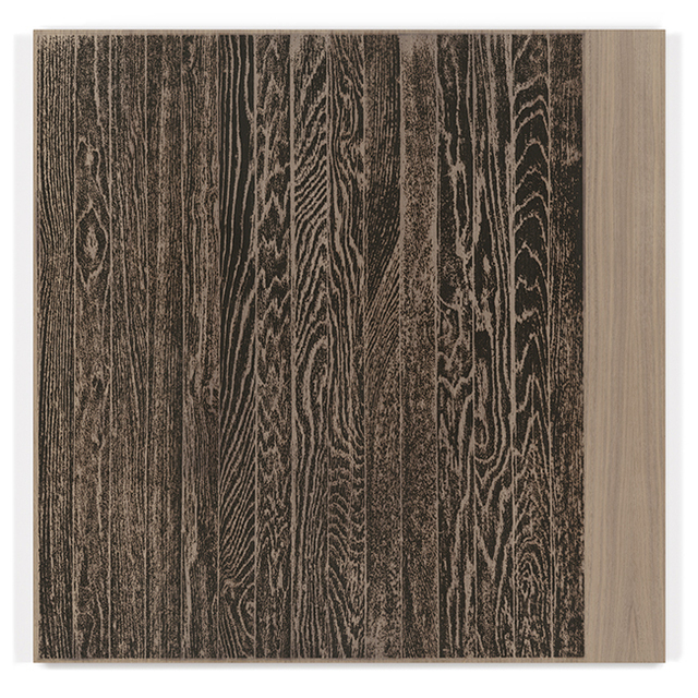 , ' Wooden Floor on Wood (Vertical),' 2017, Gemini G.E.L. at Joni Moisant Weyl