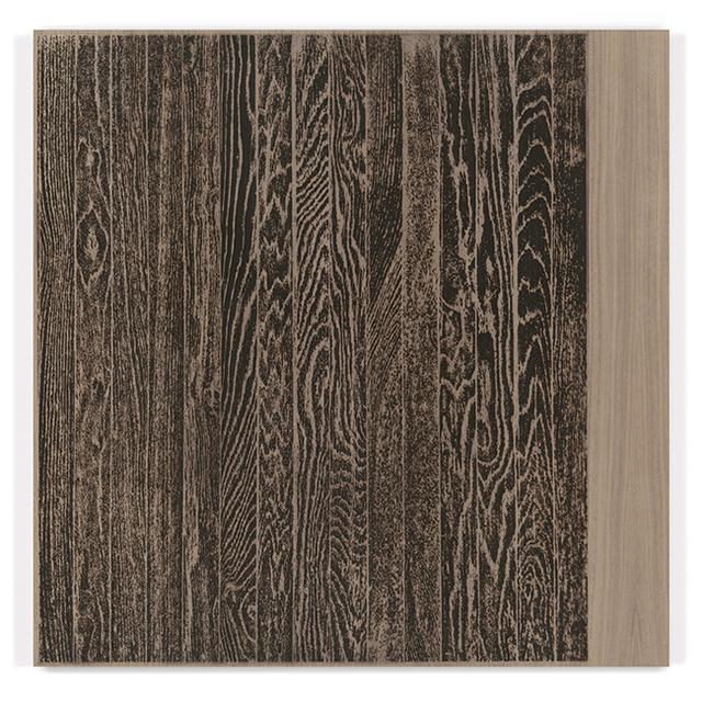 , ' Wooden Floor on Wood (Vertical),' 2017, Gemini G.E.L. at Joni Moisant Weyl