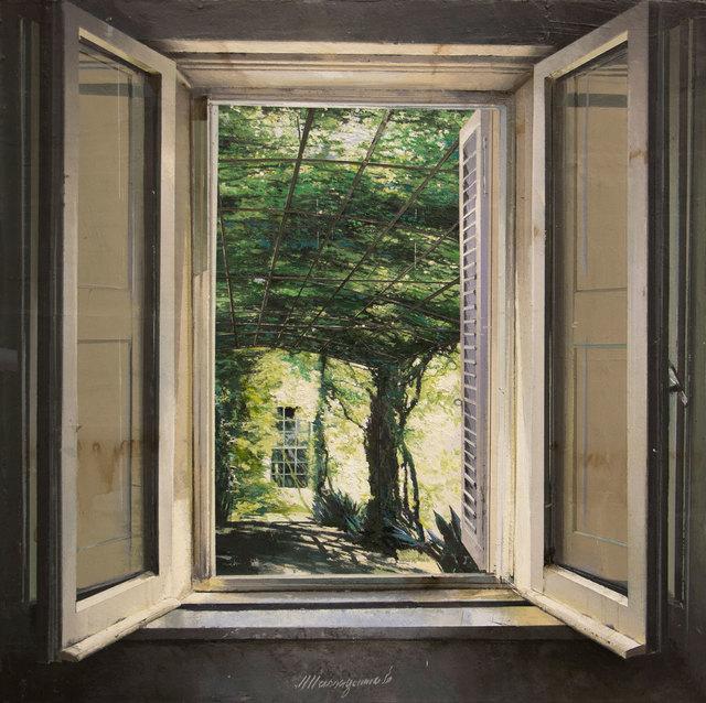 , 'Pergola,' 2018, Pontone Gallery