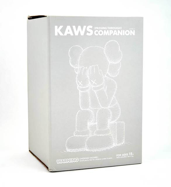 KAWS, 'Passing Through (Grey)', 2013, Design/Decorative Art, Cast Vinyl, Doyle
