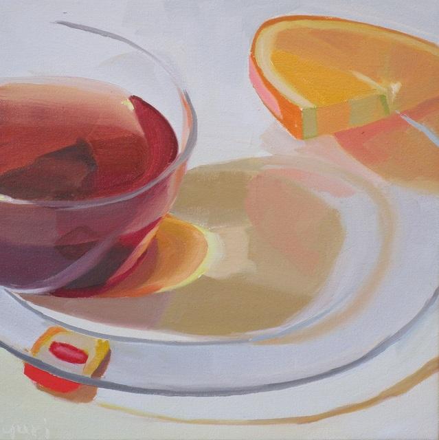 Yuri Tayshete, 'Orange and Tea Shadows', 2018, 440 Gallery
