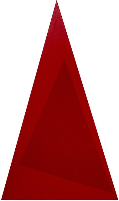 , 'Triangulo vermelho,' 1988, GALERÍA JOSÉ DE LA MANO