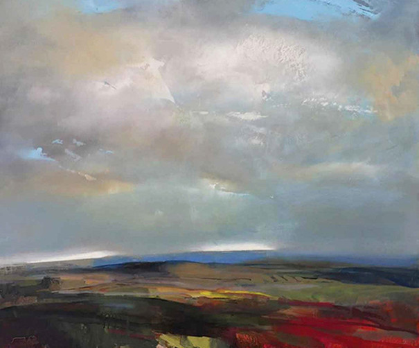 Kevin Kearns, 'Winter Sky', 2019, Claire Carino Contemporary