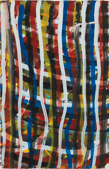 Sol LeWitt, 'Wavy Vertical Brushstrokes', 1994, Phillips