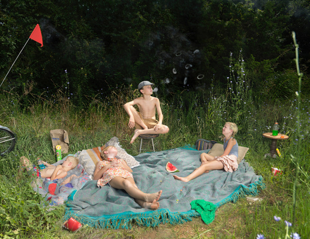 Julie Blackmon, 'Weeds', 2017, Photography, Archival pigment print, Robert Mann Gallery