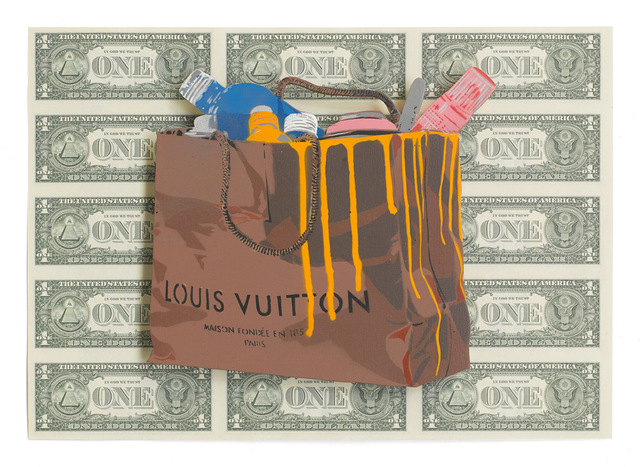 , 'Louis Vuitton $,' 2014, Imitate Modern