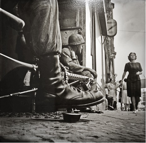 , 'Near Checkpoint Charlie, Berlin,' 1961, Hamiltons Gallery