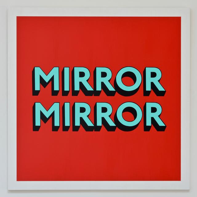 , 'MIRROR MIRROR,' 2017, Hang-Up Gallery