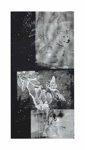 Robert Rauschenberg, 'Wolf Wood (Urban Bourbon series)', Acrylic on enameled aluminum, Christie's