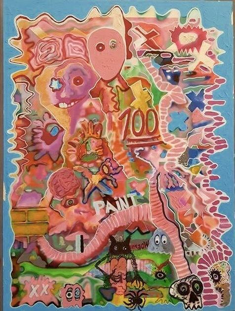 , 'Paint 100,' 2016-2017, Ro2 Art