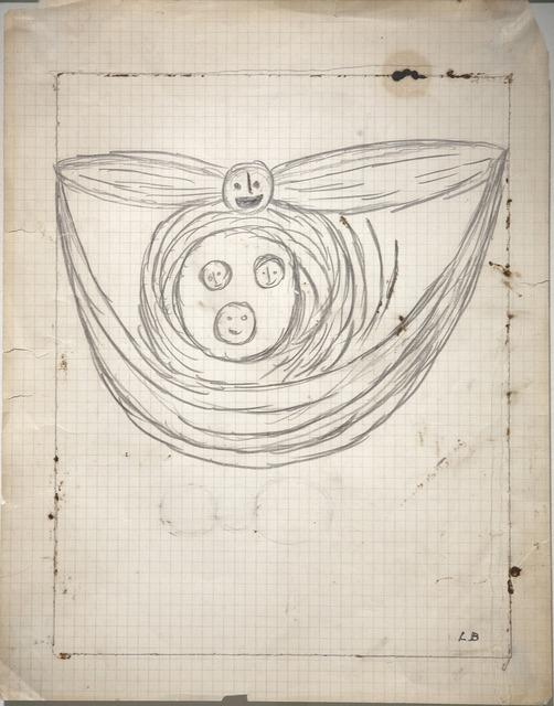 , 'Winged Head,' 1948, Galerie Le Minotaure