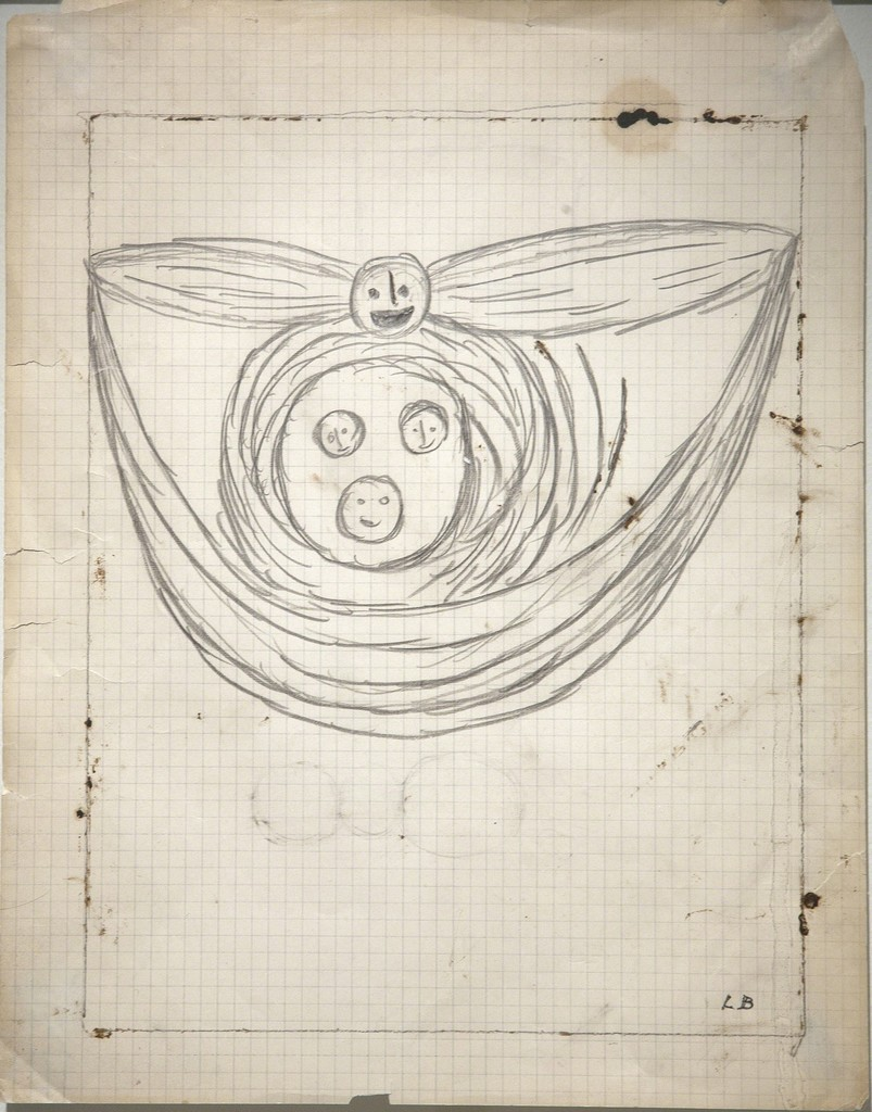 Louise Bourgeois, 'Winged Head,' 1948, Galerie Le Minotaure