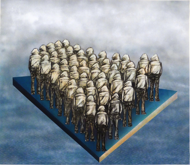 , 'Raft ya Medusa,' 2017, Galerie Ernst Hilger