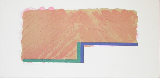 , 'Horizon IV (beige, blue, green),' 1970, Bernard Jacobson Gallery