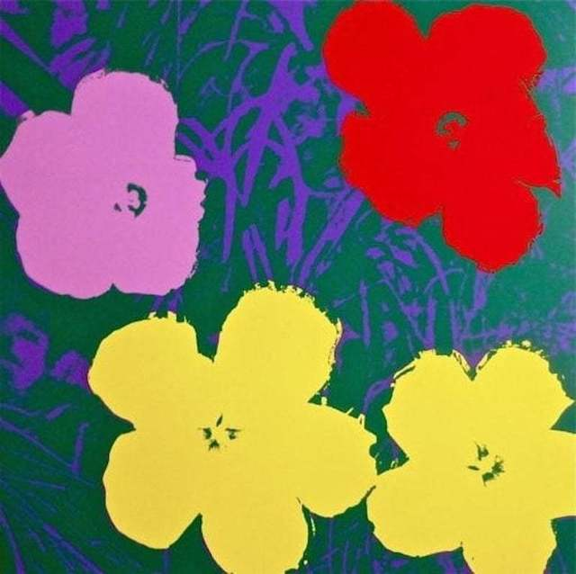 Andy Warhol, 'Flowers IV', 1970, Print, Screenprint in colors on museum board, michael lisi / contemporary art