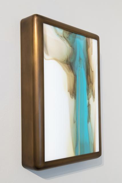 Videre Licet, 'Meltform No. 9', 2018, Design/Decorative Art, Hand rolled glass, brass frame, internal LED lights, THE NEW