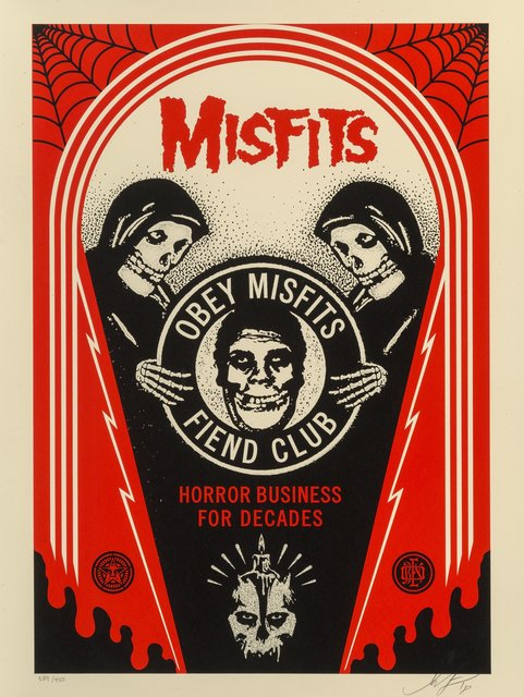 Shepard Fairey, 'Horror Business Crypt', 2018, Heritage Auctions