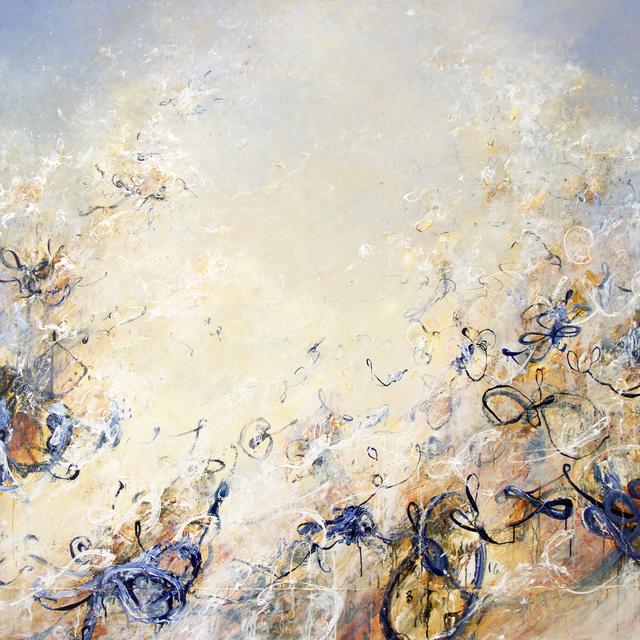 , 'Venn Pirouettes in Indigo,' 2018, Winston Wächter Fine Art
