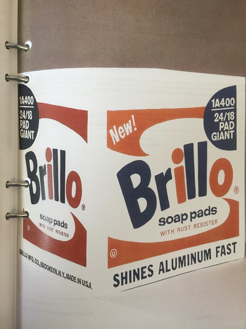 Andy Warhol, 'Brillo Soap Pads Box 1968/1990 Malmö Type', 1968/1990, Sculpture, Paint and silkscreen on wooden box, MultiplesInc Projects
